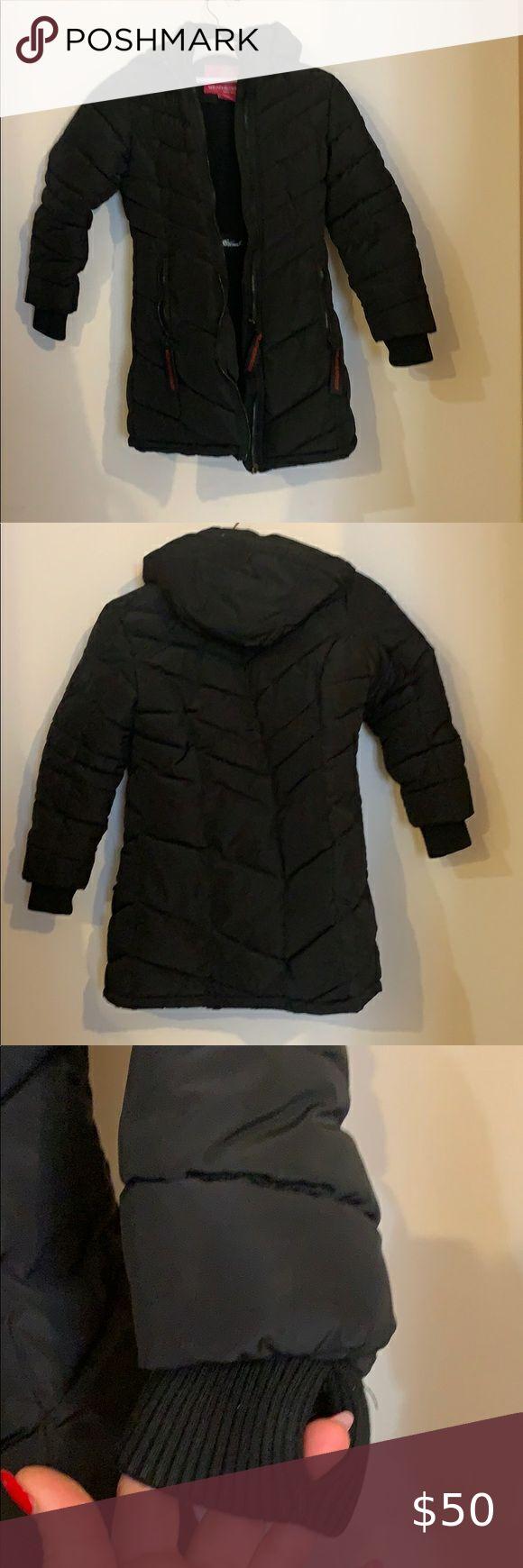 Two Weatherproof Girls Coats Girl Coat Boy Outerwear Long Puffer Coat [ 1740 x 580 Pixel ]