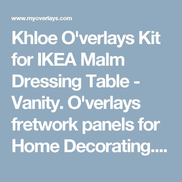 best 25 malm dressing table ideas on pinterest ikea. Black Bedroom Furniture Sets. Home Design Ideas