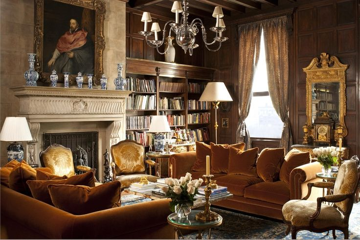 M. Frederick - 5th Avenue NYC living room