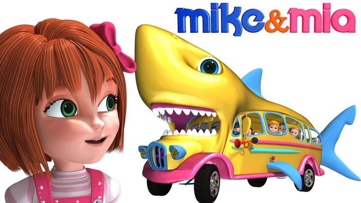 Let us all once again groove to baby shark dance steps....in the baby shark bus along with Mike and Mia.