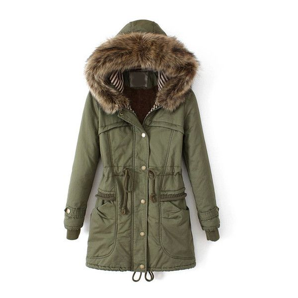Best 25  Fur hooded parka ideas on Pinterest | Green parka, Green ...