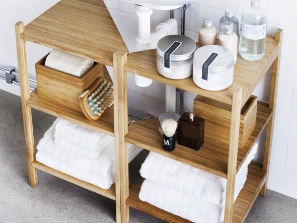 Pinterestu0027teki 25u0027ten fazla en iyi Badezimmer eckregal fikri - dänisches bettenlager badezimmer