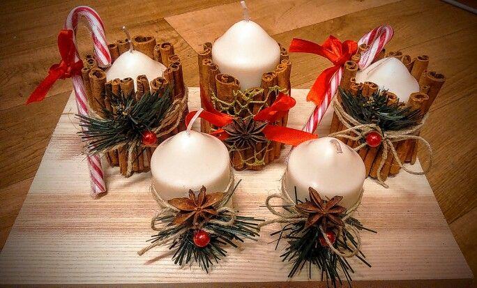 Christmas candles 4