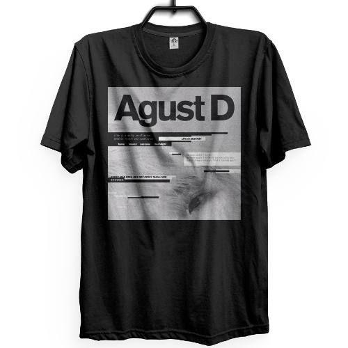 bc384edbe0a68 Agust D Camiseta Suga Bts Bangtan Boys Kpop Musica Album Pop. Clique na  foto e