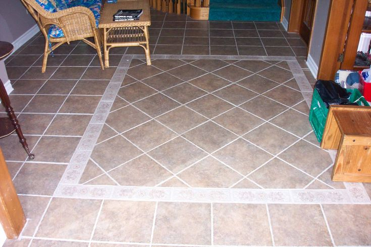 Love This Mixed Pattern And Border Tile Floors Google