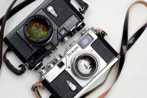 Love the old Nikon rangefinders.