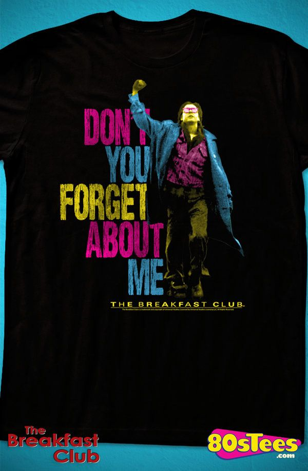 Neon John Bender Breakfast Club T-Shirt: Breakfast Club Geeks:    This men's style fashion features the popular character, John Bender.  The design is artfully illustrated.