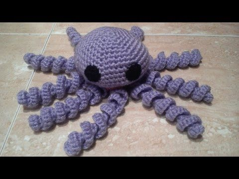 Como hacer un Pulpo a ganchillo o crochet en español, My Crafts and DIY Projects
