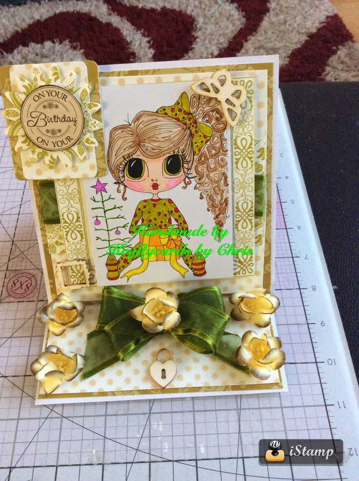Kraftycards by Chris: Easel Bestie Card