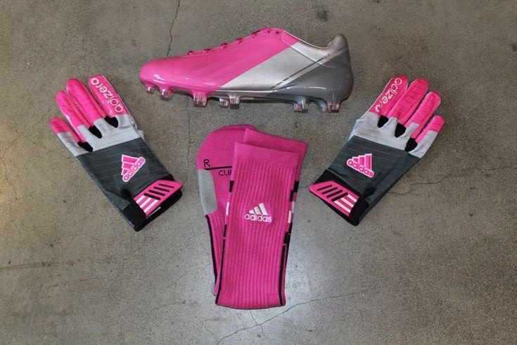 adidas 2012 Breast Cancer Awareness Month Football Gear