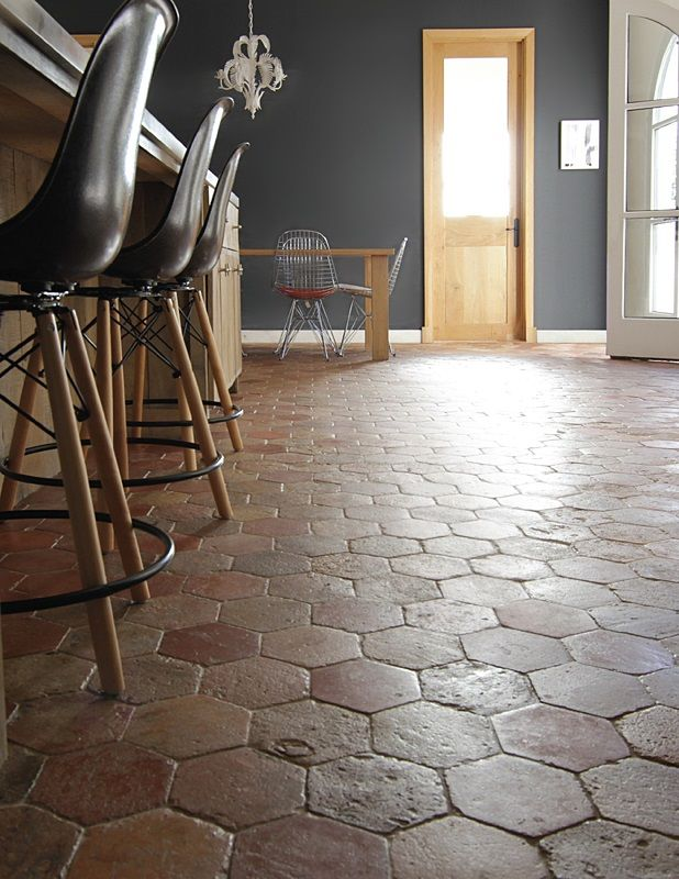 Exquisite Surfaces antique terracotta floors