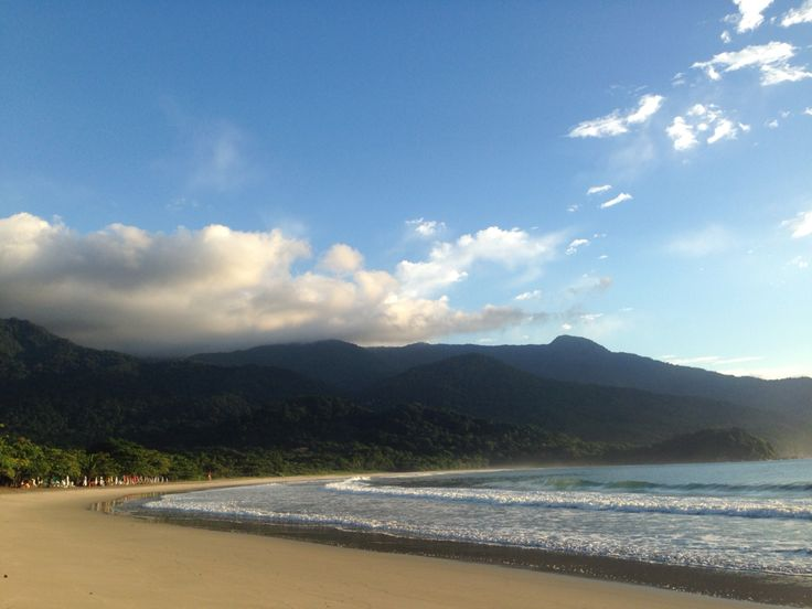 Praia castelhanos - Ilhabela - SP - Brasil