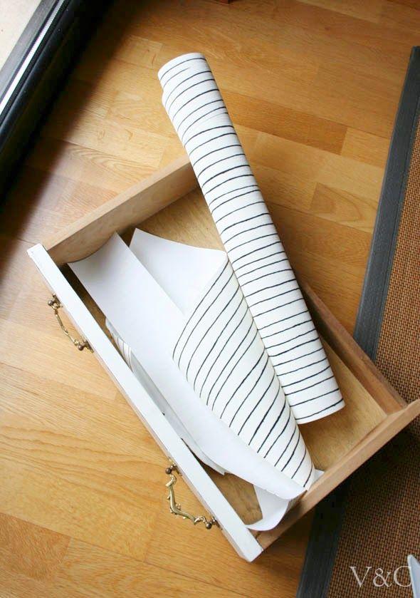 paso a paso instrucciones tutorial forrado de muebles forrar cajones