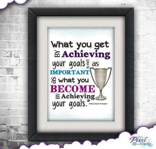 Achieving Goals Quotes: Positive Quotes For Achieving Goals. QuotesGram