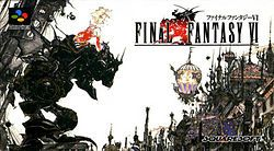 The Japanese cover of Final Fantasy VI. Gotta finish this game this summer!