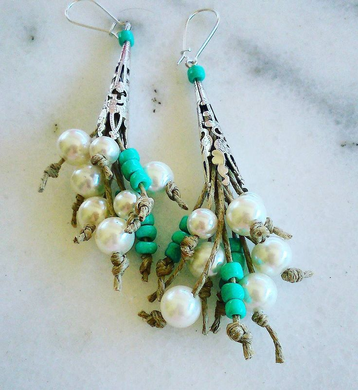 #earrings #pearls #by pearls#summer#streetstyle#streetfashion#