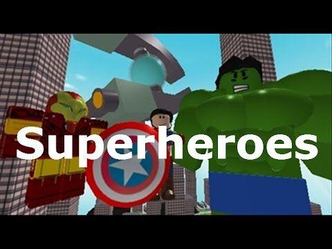 (Roblox) Superheroes