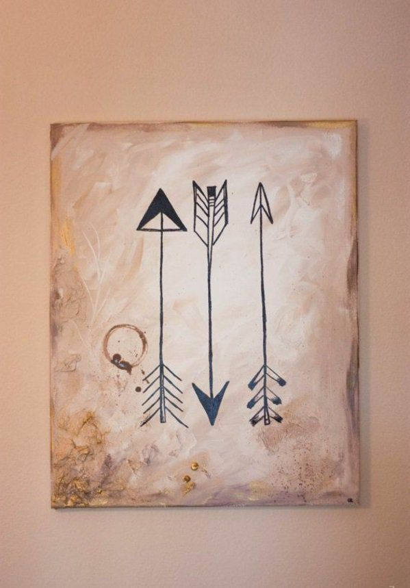 best 25 arrow painting ideas on pinterest wooden arrows. Black Bedroom Furniture Sets. Home Design Ideas