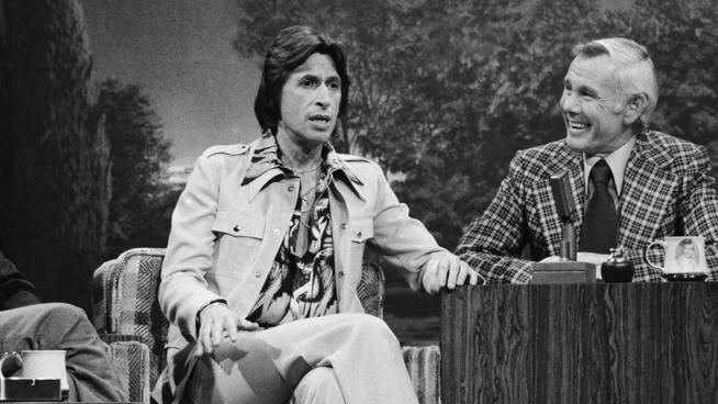 Comedian, 'Tonight Show' legend David Brenner died Saturday in New York City, publicist says - @The Associated Press   Photo: Comedian David Brenner with Tonight Show host Johnny Carson in 1975. (NBC/NBCU Photo Bank)