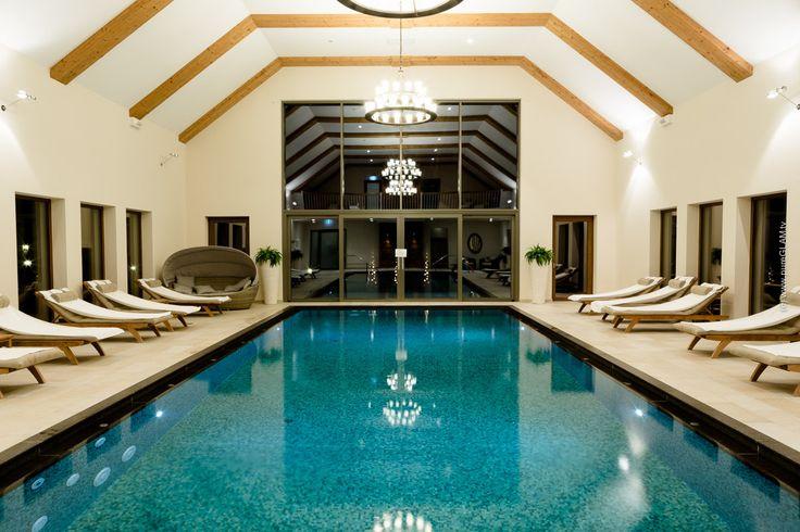 Indoor Pool - Wellness and Spa - Hotel Eisvogel in Bad Gögging in Deutschland #hotel #travel #wellness