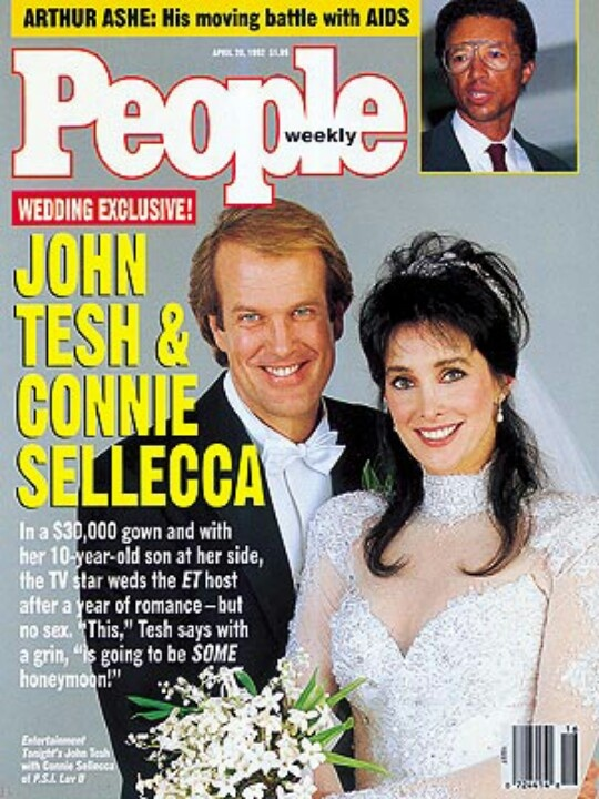 John Tesh and Connie Sellecca Married 1992 for 21 years