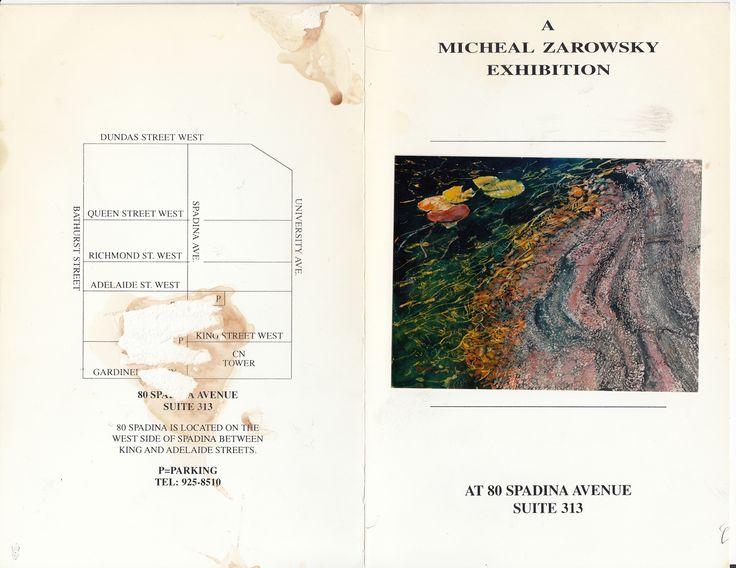 zarowsky  killarney watercolours at 80 spadina suite 313, toronto