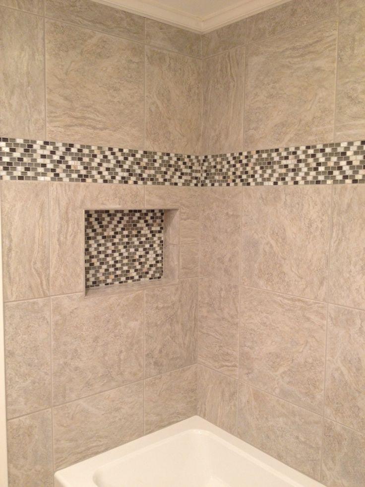 Best Bathroom Niche Ideas On Pinterest Shower Niche - Glass accent tiles for bathroom for bathroom decor ideas