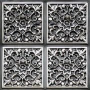 dining room ceiling tiles | #109 Antique Silver