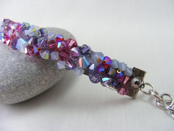 Cupcake Cutie  Designer Swarovski Crystal Bracelet on by Love2get, $40.00