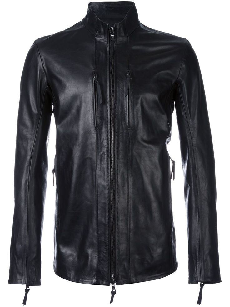 11 By Boris Bidjan Saberi high neck zipped jacket
