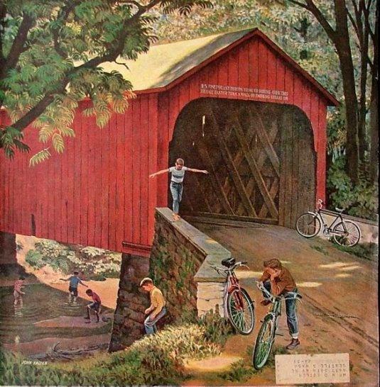 Covered Bridge - John Philip Falter
