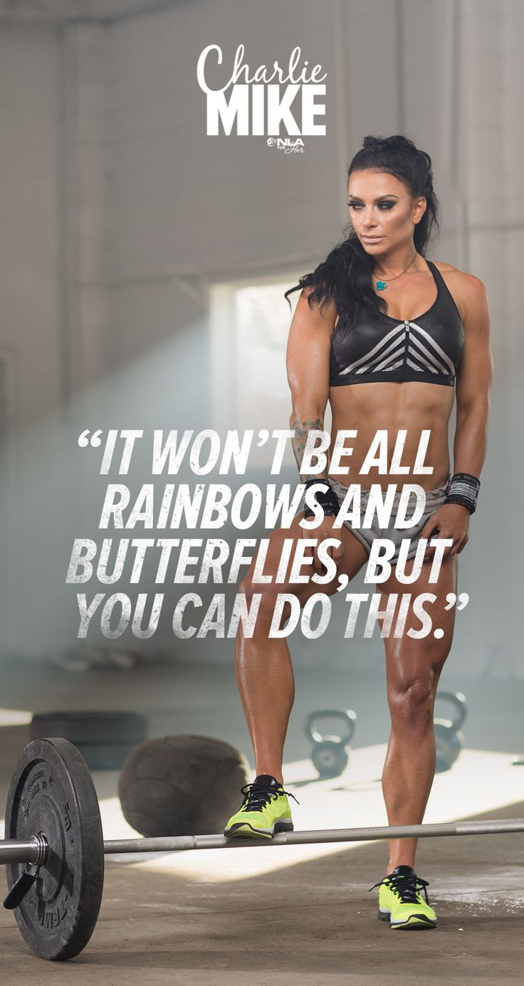 """""""It won't be all about rainbows and butterflies, but you can do this."""" BELIEVE. Ashley Horner's 6-Week Program, Charlie Mike."""