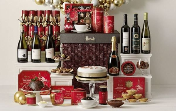 2013 Christmas Gift Ideas, Luxury Christmas Hampers Harrods London