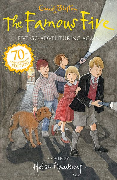 Gorgeous new covers from five leading illustrators to celebrate 70th anniversary of Famous Five. I will be collecting them all.