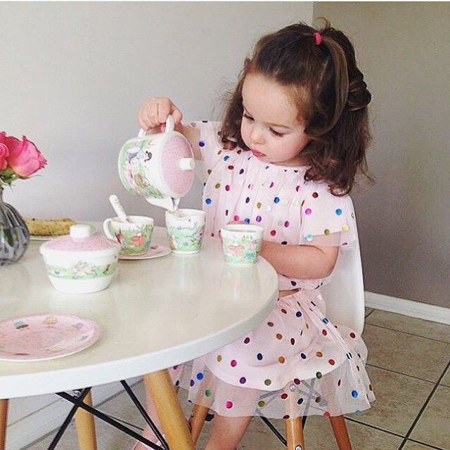 The perfect tea party dress, this adorable @Sista_Australia dress is arriving in early September!  #TargetKids