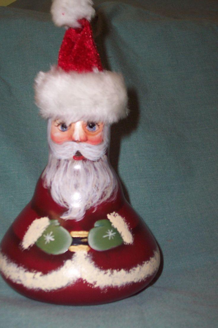 Re Purposed Flood Light · Lightbulb Ornamentspainted Ornamentslightbulbs Christmas Centerpiecesxmas