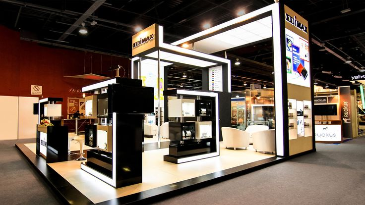Exhibition Stand Technology : Gitex the global information technology