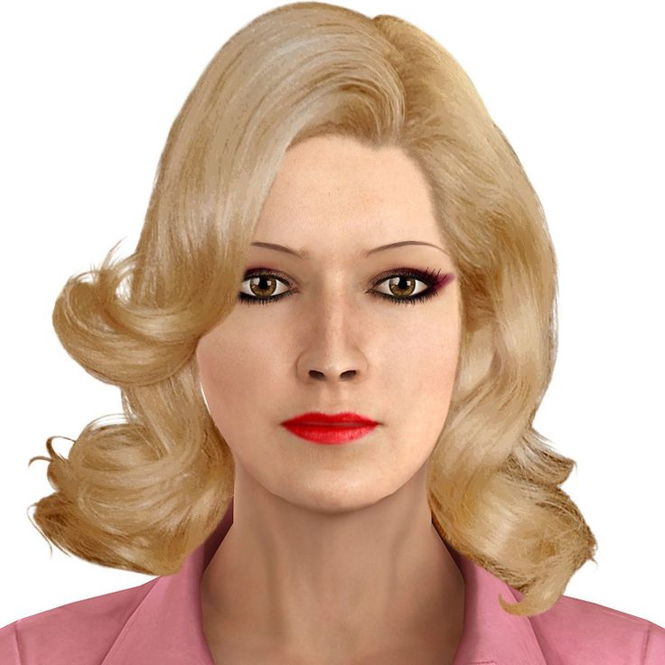 """Virtual Hair Makeover: """"blonde"""" Created Using TAAZ Virtual Makeover. Try On"""