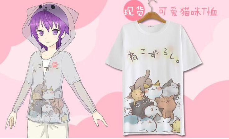 Japanese novelty style summer girls kawaii moon cat printed sunscreen beach bathrobe sun shirt women clothing outerwear