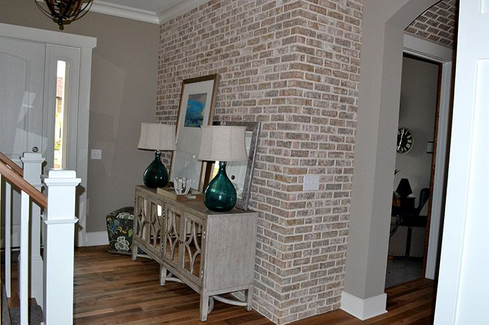 Nob Hill Thin Brick Throughout This Home Makes For A Stunning Fireplace Brick Accent Wall And