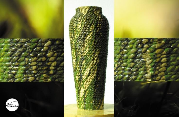 Handmade flowerpot
