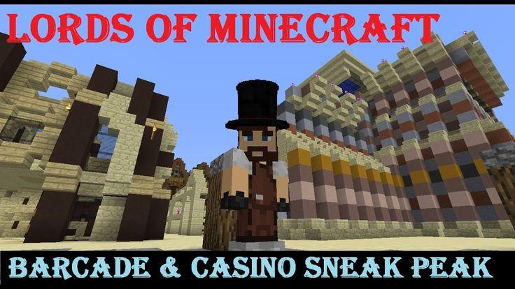 Lords of Minecraft Eclipse Barcade & Casino SNEAK PEAK!! S3