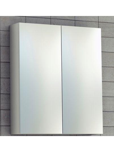 Spegelskåp badrum Siko 60cm Vit