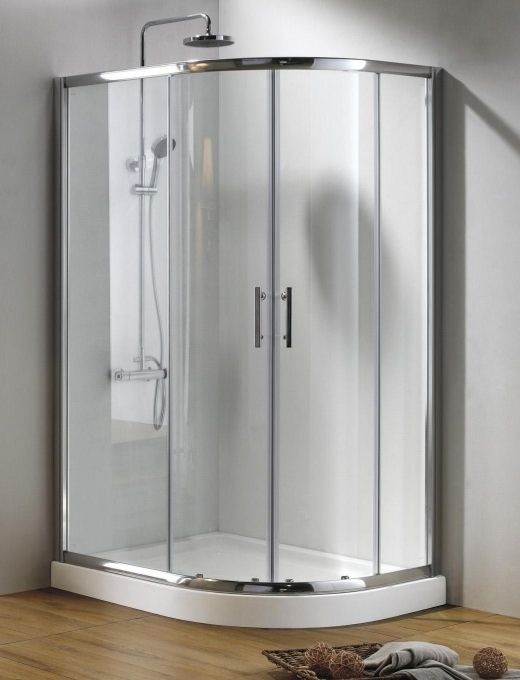 900mm X 760mm R H Offset Quadrant Shower Enclosure Amp Mx