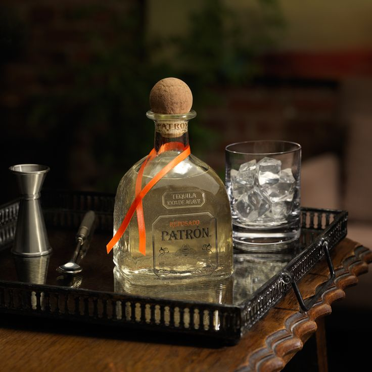 Patrón Reposado is aged for at least two months in a combination of new and used American, French and Hungarian oak barrels.