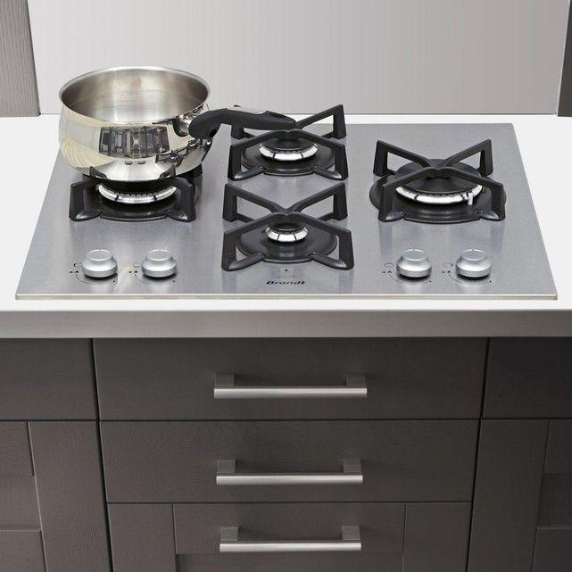 Table de cuisson gaz BRANDT BPE6414X BRANDT