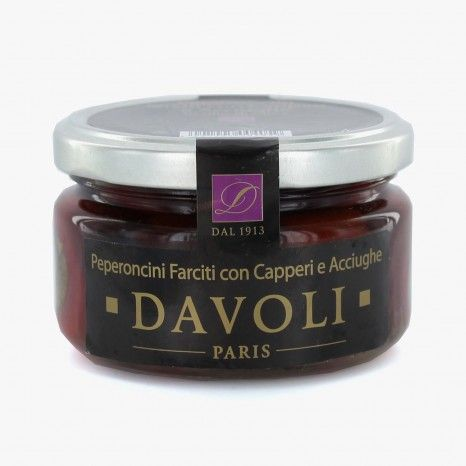 Poivron farci câpres & anchois - Davoli