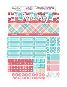 January Monthly – Free Printable - BEaYOUtiful Planning