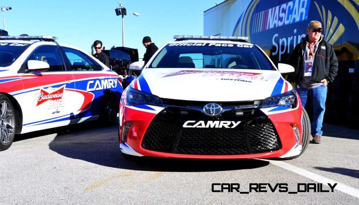 2015 Toyota Camry XSE V6 Morphs Into DAYTONA 500 Official Pace Car + #83 Johnny Sauter Camry NASCAR