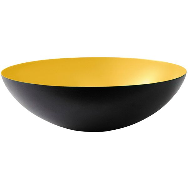 The Krenit set, designed by Herbert Krenchel, was taken into production for the first time in 1953. The Krenit bowl is an excellent example of Danish design and it has become a design icon.